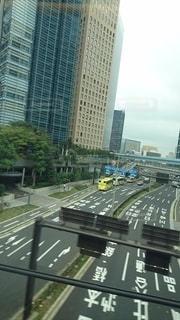 新幹線から見た景色の写真・画像素材[3530503]