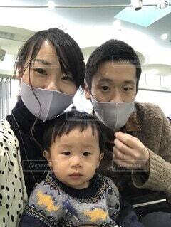 家族フォトの写真・画像素材[4044233]