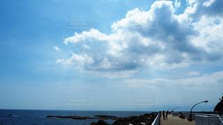 七里ヶ浜の雲の写真・画像素材[3535504]