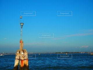 ベニスの海での写真・画像素材[3538417]