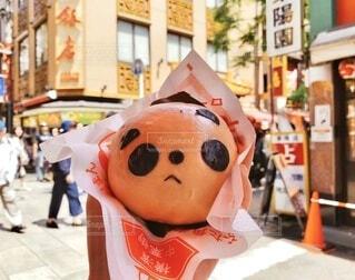 パンダの肉まん♡の写真・画像素材[3663617]