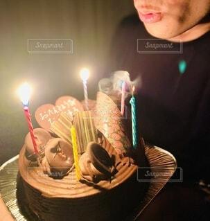 お誕生日おめでとうの写真・画像素材[3978268]