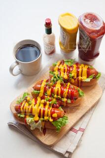 おうちごはん,パン,朝ごはん,モーニング,ホットドッグ