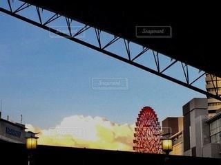 湧き上がる雲の写真・画像素材[3575256]