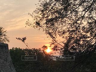日の出の写真・画像素材[3622840]