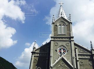 空,建物,屋外,教会,日中,崇拝場