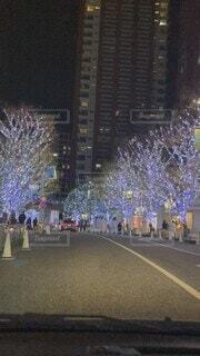 東京タワー,夜,夜景,屋外,花火,道路,ライトアップ,道,クリスマス,明るい,テキスト,クリスマス ツリー