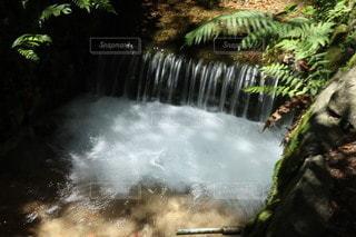 大きな滝の写真・画像素材[3563069]