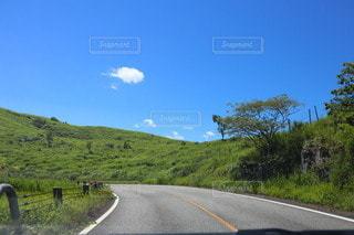 道路の側の標識の写真・画像素材[3563071]