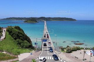 角島大橋の写真・画像素材[3563164]