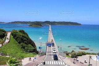 角島大橋の写真・画像素材[3563163]