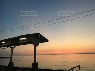 下灘駅の写真・画像素材[3622275]