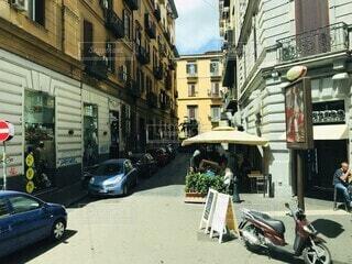 イタリアの街並みの写真・画像素材[3622317]