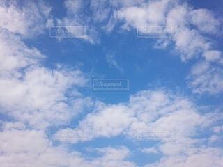 空の雲の群の写真・画像素材[3786671]