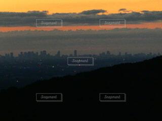 自然,風景,空,屋外,朝日,雲,青空,山,登山,日の出
