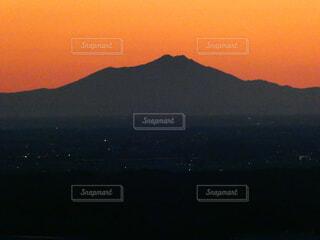 風景,空,屋外,朝日,山,オレンジ,朝焼け,正月,お正月,日の出,新年,初日の出,筑波山,奥武蔵