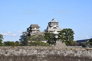 城と空の写真・画像素材[3792941]