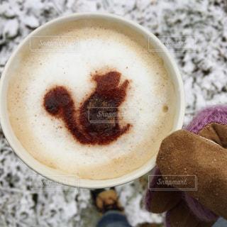 一杯のコーヒーの写真・画像素材[908973]