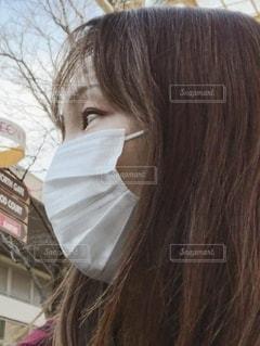 マスク美人の写真・画像素材[3601419]