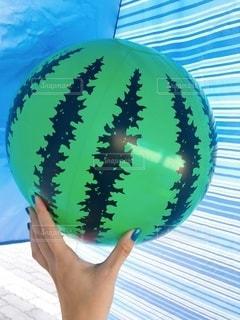 スイカボールの写真・画像素材[3605309]