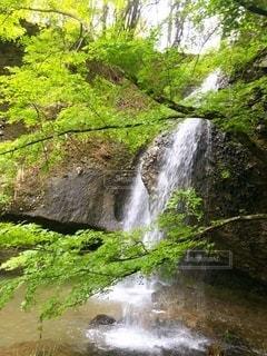 大迫力な滝の写真・画像素材[3605554]