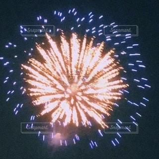 空に輝く花火の写真・画像素材[3611023]