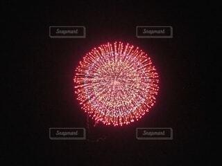 夜空に咲く花火の写真・画像素材[3670331]