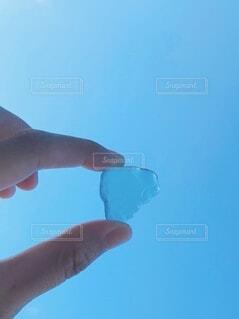 綺麗なガラスの写真・画像素材[3672369]