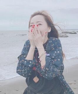楽しい海の写真・画像素材[3672415]