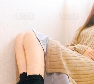ファッションを楽しむ女子の写真・画像素材[3702952]