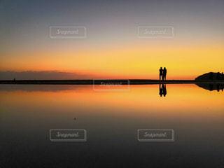 日本のウユニ塩湖の写真・画像素材[3601268]