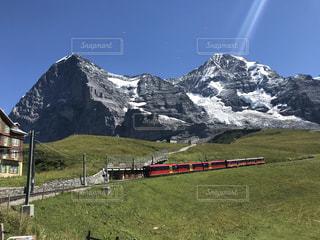 スイスアルプス ユングフラウヨッホ鉄道の写真・画像素材[3596356]