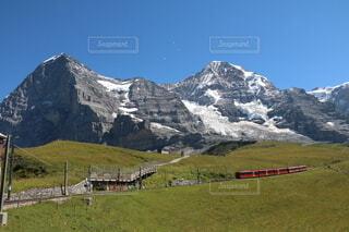 スイス ユングフラウヨッホ鉄道の写真・画像素材[3629017]