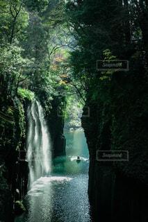高千穂峡の絶景の写真・画像素材[3628192]
