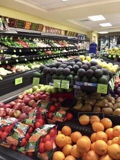 食べ物,風景,野菜,食品,たくさん,ハワイ,Hawaii,マーケット,陳列,食材,フレッシュ,ベジタブル,野菜売り場,グローサリー