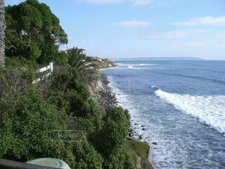 サンディエゴ、美しいラホヤ海岸線の写真・画像素材[3633608]