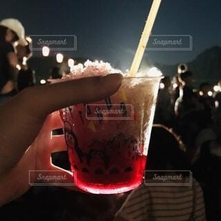 祭りと灯りとかき氷の写真・画像素材[3627489]