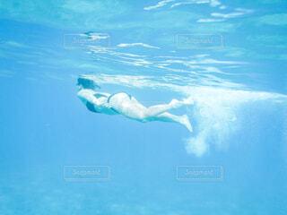 海の中を自由にの写真・画像素材[4436600]