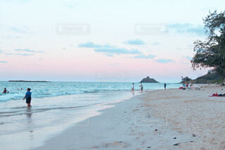 カイルアビーチでの夢見心地なひとときの写真・画像素材[4874267]