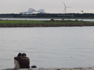 ゲートブリッジ学生見える風景の写真・画像素材[3797679]