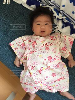赤ちゃんの写真・画像素材[686636]