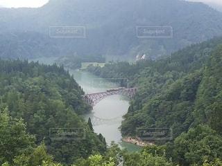 第一只見川橋梁の写真・画像素材[3639339]