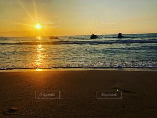 サンセットの写真・画像素材[3640265]