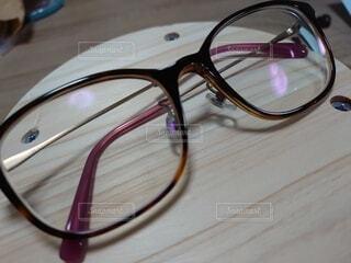 シンプルメガネの写真・画像素材[3654351]