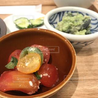 プチトマトのサラダの写真・画像素材[3667406]