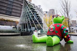屋外,緑,アート,クリスマス,グランフロント