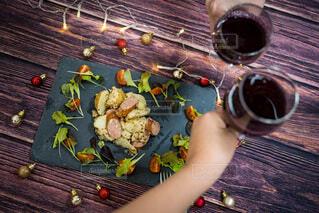 食べ物,野菜,人,ワイン,料理,ソーセージ,木目,ジャーマンポテト,ジョンソンヴィル