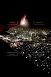 夜景の写真・画像素材[3695024]