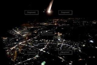 夜景の写真・画像素材[3695025]