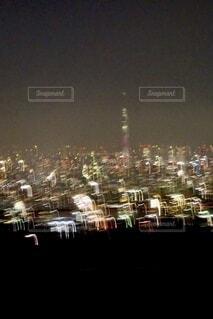夜の都市の写真・画像素材[3695030]